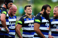 David Sisi of Bath Rugby looks on during a break in play. Pre-season friendly match, between the Scarlets and Bath Rugby on August 20, 2016 at Eirias Park in Colwyn Bay, Wales. Photo by: Patrick Khachfe / Onside Images