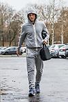 03.12.2018, Trainingsgelaende am Weserstadion, Bremen, GER, 1.FBL, Training SV Werder Bremen<br /> <br /> im Bild <br /> Milos Veljkovic (Werder Bremen #13) bei Ankunft am Weserstadion nach dem Heimspiel gegen FC Bayern M&uuml;nchen und der Diagnose Muskelfaserriss im linken H&uuml;ftbeuger, <br /> <br /> Foto &copy; nordphoto / Ewert