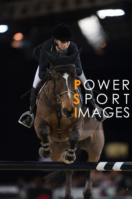 Riders in action during the Longines Hong Kong Masters on 1 March 2013 at the Asia World-Expo in Hong Kong, China. Photo by Manuel Queimadelos / The Power of Sport Images