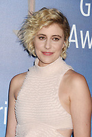 BEVERLY HILLS, CA - FEBRUARY 11: Writer-director Greta Gerwig attends the 2018 Writers Guild Awards L.A. Ceremony at The Beverly Hilton Hotel on February 11, 2018 in Beverly Hills, California.