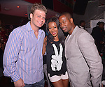 MIAMI BEACH, FL - MAY 04: Micha Porat, Denyce Lawton and Actor Darrin Henson celebrated Darrin Henson and Denyce Lawton birthday at Club Play South Beach on May 4, 2013 in Miami Beach, Florida. (Photo by Johnny Louis/jlnphotography.com)