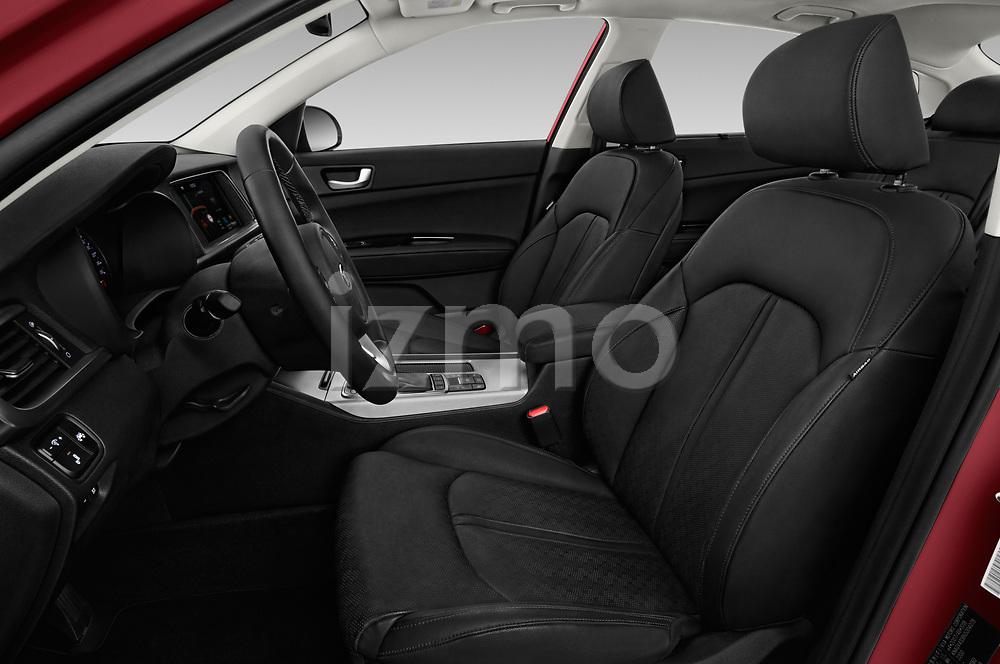 Front seat view of a 2017 KIA Optima Plug-In Hybrid Fusion 4 Door Sedan front seat car photos