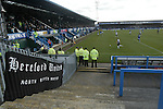 Chesterfield 1 Hereford United 2, 27/03/2010. Saltergate, Chesterfield. League Two. Photo by Tony Davis.