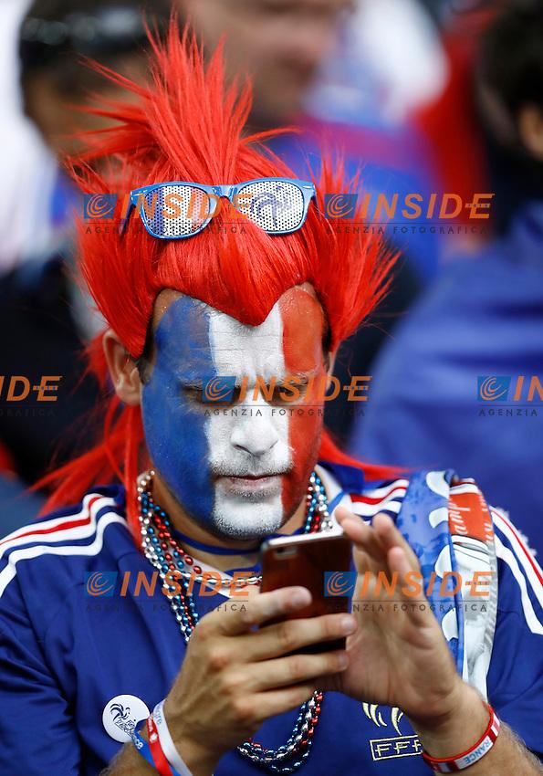 France supporter. tifoso<br /> Marseille 07-07-2016 Stade Velodrome Football Euro2016 Germany - France / Germania - Francia Semi-finals / Semifinali <br /> Foto Matteo Ciambelli / Insidefoto