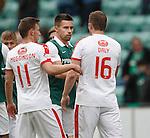 Ex-Rangers team mates Darren McGregor and Jon Daly
