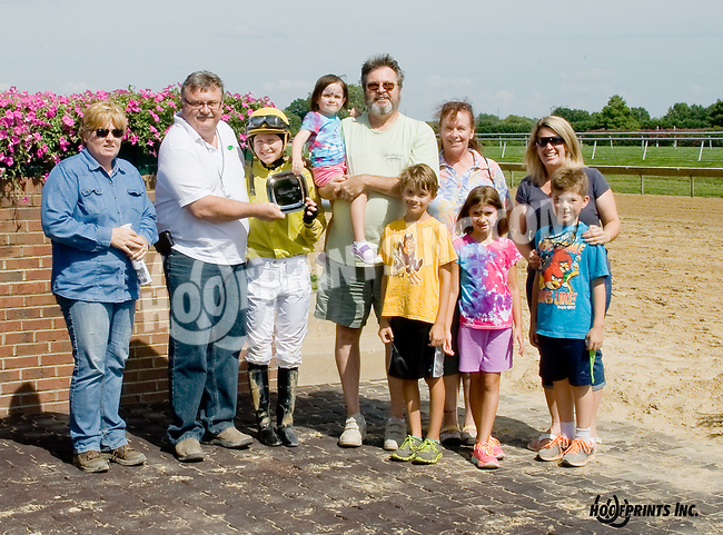 First Betrayal winning at Delaware Park on 8/16/14