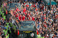 Wales Squad Euro 2016 Homecoming - 08.07.2016