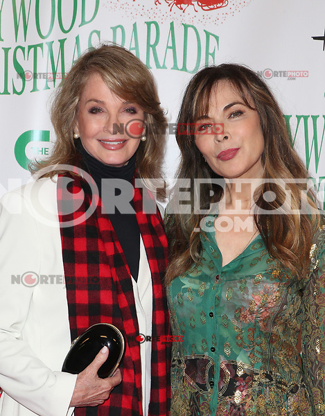 HOLLYWOOD, CA - NOVEMBER 26: Deidre Hall, Lauren Koslow, at 86th Annual Hollywood Christmas Parade at Hollywood Blvd in Hollywood, California on November 26, 2017. Credit: Faye Sadou/MediaPunch /NortePhoto NORTEPHOTOMEXICO