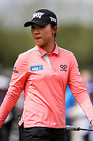 Lydia Ko. McKayson NZ Women's Golf Open, Round Two, Windross Farm Golf Course, Manukau, Auckland, New Zealand, Friday 29 September 2017.  Photo: Simon Watts/www.bwmedia.co.nz