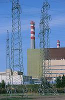 HUNGARY Paks, nuclear power plant / UNGARN Paks, Atomkraftwerk AKW Kernkraftwerk KKW
