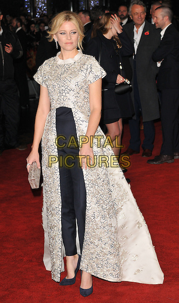 Elizabeth Banks attends the &quot;The Hunger Games: Mockingjay Part 2&quot; UK film premiere, Odeon Leicester Square, Leicester Square, London, England, UK, on Thursday 05 November 2015. <br /> CAP/CAN<br /> &copy;Can Nguyen/Capital Pictures