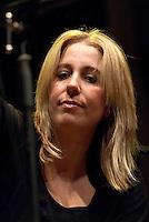 """Ginevra Di Marco. Presentazione de""""L'anima della terra vista dalle stelle"""". Milano, 4 febbraio, 2012.....Ginevra Di Marco. Milano,  February 4, 2012."""
