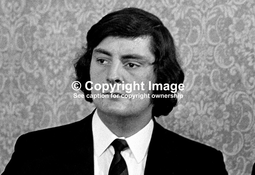 Sammy Doyle, member, UDA, Ulster Defence Association, N Ireland, 197211070700SD.<br />