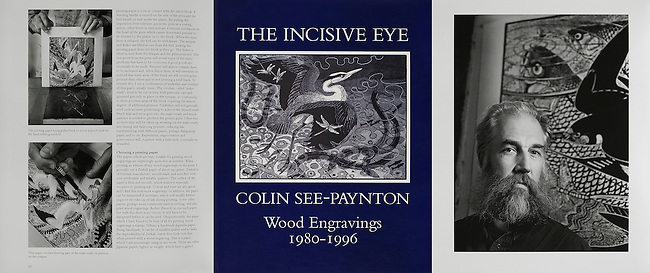 Colin See-Paynton, from a series of pictures commissioned by the GLYNN VIVIAN ART GALLERY.<br /> <br /> Published in the 'INCISIVE EYE' by Scolar Press.