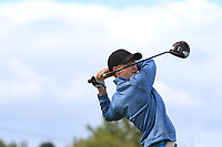 Robert Walsh Jnr (Kinsale) on the 14th tee during the Final round in the Connacht U16 Boys Open 2018 at the Gort Golf Club, Gort, Galway, Ireland on Wednesday 8th August 2018.<br /> Picture: Thos Caffrey / Golffile