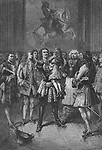 In 1717, when only seven years old, Louis XV received a visit from Peter the Great of Russia who, seeing a delicate little boy,