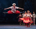 London, UK. 13.12.2016. English National Ballet presents NUTCRACKER, at the London Coliseum. Choreography by Wayne Eagling, based on a concept by Toer van Schayk and Wayne Eagling, music by Pyotr Ilyich Tchaikovsky, design by Peter Farmer, lighting by David Richardson. Picture shows: Ken Saruhashi, artists of the company. Photograph © Jane Hobson.,