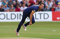 David Masters in bowling action for Essex during Essex Eagles vs Glamorgan, NatWest T20 Blast Cricket at the Essex County Ground on 29th July 2016
