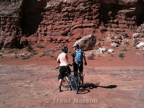 . Saturday, October 17 2009.mike terry, djamila grossman, monitor and merrimac mountain bike trail