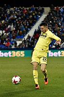 Leganes vs Villarreal Antonio Rukavina during Copa del Rey match. 20180104.