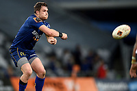 Michael Collins of Otago in action during the 2018 Mitre 10 Cup Championship rugby semifinal between Canterbury and Counties Manukau at Forsyth Barr Stadium in Dunedin, New Zealand on Saturday, 20 October 2018. Photo: Joe Allison / lintottphoto.co.nz