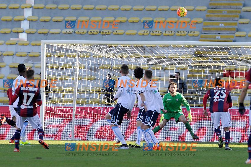 Gol Emanuele Giaccherini Bologna Goal celebration <br /> Bologna 17-01-2016 Stadio Dall'Ara Football Calcio Serie A 2015/2016 Bologna - Lazio 2-2 Foto Insidefoto