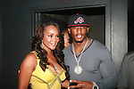 "Vivica A. Fox and Omar ""Slim"" White Attend Vivica A. Fox Hosts Private Celebration for the 31st Birthday of Publicist BJ Coleman and the Launch of www.burgersandbourbon.com Sponsored by Pisco Portón,  at The Marcel Hotel's Polar Lounge, NY 8/25/11"