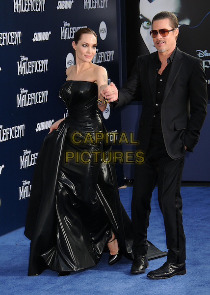 28 May 2014 - Hollywood, California - Angelina Jolie, Brad Pitt. &quot;Maleficent&quot; Los Angeles Premiere held at The El Capitan Theatre. <br /> CAP/ADM/BP<br /> &copy;Byron Purvis/AdMedia/Capital Pictures