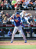 Matt Duffy - Texas Rangers 2020 spring training (Bill Mitchell)