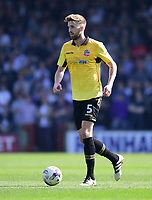 Bolton Wanderers' Mark Beevers<br /> <br /> Photographer Chris Vaughan/CameraSport<br /> <br /> The EFL Sky Bet League One - Scunthorpe United v Bolton Wanderers - Saturday 8th April 2017 - Glanford Park - Scunthorpe<br /> <br /> World Copyright &copy; 2017 CameraSport. All rights reserved. 43 Linden Ave. Countesthorpe. Leicester. England. LE8 5PG - Tel: +44 (0) 116 277 4147 - admin@camerasport.com - www.camerasport.com