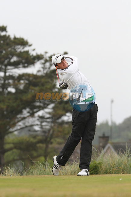 Shane McGlynn (South County) on the 11th Tee, Day 2 at the East of Ireland Amateur Open Championship 2011 in Co.Louth Golf Club....(Photo credit should read Jenny Matthews www.newsfile.ie)....This Picture has been sent you under the conditions enclosed by:.Newsfile Ltd..The Studio,.Millmount Abbey,.Drogheda,.Co Meath..Ireland..Tel: +353(0)41-9871240.Fax: +353(0)41-9871260.GSM: +353(0)86-2500958.email: pictures@newsfile.ie.www.newsfile.ie.
