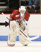 Raphael Girard (Harvard - 30) - The Boston University Terriers defeated the visiting Harvard University Crimson 5-2 on Saturday, January 15, 2011, at Agganis Arena in Boston, Massachusetts.