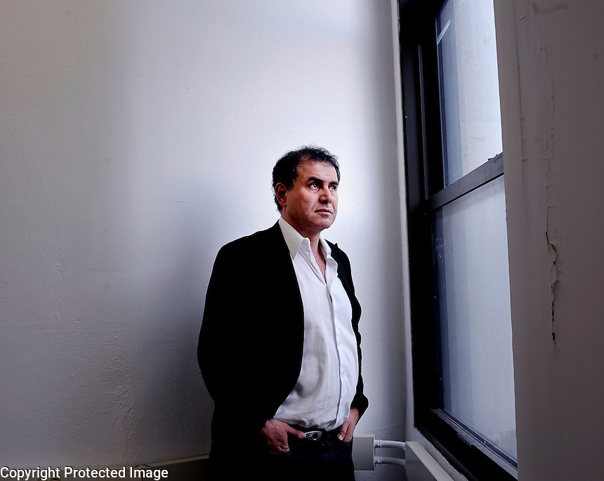 USA. Manhattan. 18th December 2008..Nouriel Roubini..©Andrew Testa