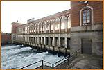L'imbocco del Canale Cavour a Chivasso