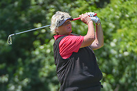 Laura Davies (ENG) watches her tee shot on 17 during round 2 of the 2018 KPMG Women's PGA Championship, Kemper Lakes Golf Club, at Kildeer, Illinois, USA. 6/29/2018.<br /> Picture: Golffile | Ken Murray<br /> <br /> All photo usage must carry mandatory copyright credit (&copy; Golffile | Ken Murray)