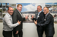 Pictured from left are Craig Toomey, Tom Saxton, Shaun Toomey and Sean King of ARC Business Interiors