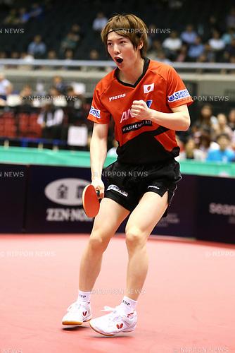 Kenta Matsudaira (JPN), JUNE 16, 2017 - Table Tennis : ITTF World Tour, Japan Open 2017 Men's Singles at Tokyo Metropolitan Gymnasium, Tokyo, Japan. (Photo by Sho Tamura/AFLO)