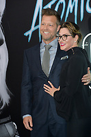 David Leitch &amp; Kelly McCormick at the premiere for &quot;Atomic Blonde&quot; at The Theatre at Ace Hotel, Los Angeles, USA 24 July  2017<br /> Picture: Paul Smith/Featureflash/SilverHub 0208 004 5359 sales@silverhubmedia.com