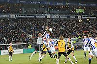 VOETBAL: SC HEERENVEEN: Abe Lenstra Stadion, 17-02-2012, SC-Heerenveen-NAC, Eredivisie, Eindstand 1-0, Jelle ten Rouwelaar, Michel Breuer (4), ©foto: Martin de Jong