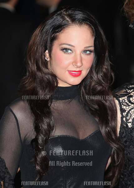 Tulisa from X Factor arriving for the Royal World Premiere of 'Skyfall' at Royal Albert Hall, London. 23/10/2012 Picture by: Alexandra Glen / Featureflash