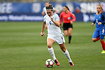 CHESTER, PA - MARCH 01: Jodie Taylor (ENG). The England Women's National Team played the France Women's National Team as part of the She Believes Cup on March, 1, 2017, at Talen Engery Stadium in Chester, PA. The France won the game 2-1.