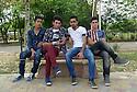 Iraq 2015  Teenagers in a park of Erbil<br />Irak 2015 Adolescents dans un parc d&rsquo;Erbil