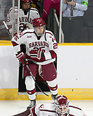 Jacob Olson (Harvard - 26), Wiley Sherman (Harvard - 25) - The Harvard University Crimson defeated the Providence College Friars 3-0 in their NCAA East regional semi-final on Friday, March 24, 2017, at Dunkin' Donuts Center in Providence, Rhode Island.