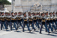 Roma, 2 giugno 2014, parata militare ai Fori Imperiali in occasione dell'anniversario della proclamazione della Repubblica Italiana - Rome, June 2nd 2014, military parade along the Fori Imperiali on the anniversary of the proclamation of the Italian Republic.