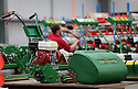 20/06/14<br /> <br /> Mowers being made at the Dennis factory in Kirk Langley, Derbyshire.<br /> <br /> Full story here: http://www.fstoppress.com/articles/world_cup_dennis_mowers/<br /> <br /> While England's footballers have proved they are not a cut-above-the-rest, one of our most iconic machines will continue to fly the flag for England at every one of this year's World Cup games in Brazil.<br /> <br /> Chosen for their quality and reputation Dennis lawn mowers are said to be 'the Rolls Royce of mowers'. After being slected to supply mowers to all 12 World Cup stadiums, the company sent their own team out to Brazil to train contractors how to use their machines. <br /> <br /> All Rights Reserved: F Stop Press Ltd +44 (0)1335 300098