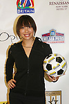 Cheryl Burke - Dancing with the Stars - at the Celebrity soccer game to benefit Hollywood United for Haiti at 1st Setanta Cup Soccer Festival on April 11, 2009 at Chelsea Pers, NYC. (Photo  by Sue Cofln/Max Photos)