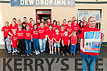 Dystonia 5k Walk: Mairead Kelliher, Lixnaw pictured to announce the upcoming 5K walk in aid of Dystonia Ireland to start at the Dew Drop Inn , Lixnaw on 24th September at 1pm.