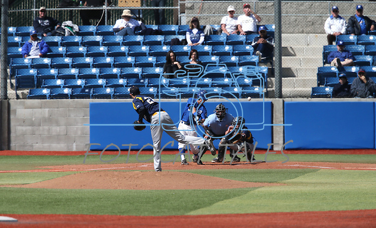 Images from a college baseball game between Western Nevada and Southern Nevada in Carson City, Nev., on Friday, March 22, 2013..Photo by Cathleen Allison