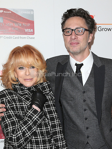 Beverly Hills, CA - FEBRUARY 06: Ann-Margret, Zach Braff, At 16th Annual AARP The Magazine's Movies For Grownups Awards, At The Beverly Wilshire Four Seasons Hotel In California on February 06, 2017. Credit: Faye Sadou/MediaPunch
