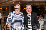 Tea Party: Attending the Listowel Active Retirement tea party at the Listowel Arms Hotel on afternoon last were Aine & Christina Joyce from Ballybunion.